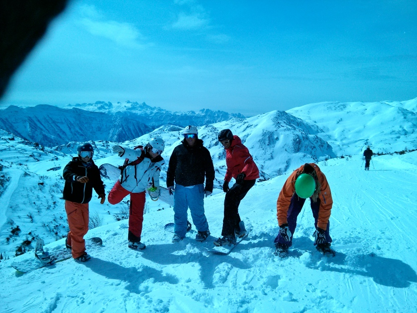 Snowboard Instructor Course on Feuerkogel