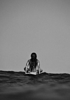 surf girl alone