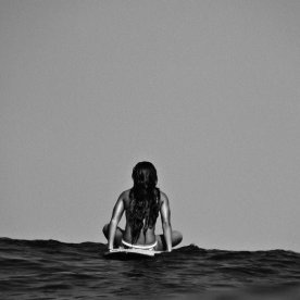 surf girl alone