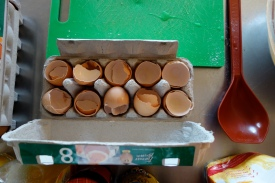 ... twelve eggs....